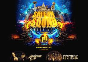 SAFE IN SOUND traveling festival brings bass music stars & PK Sound to 20 cities this fall!