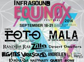 Infrasound EQUINOX 2014 adds Desert Dwellers, Kaminanda, and more with Phase 2 lineup!