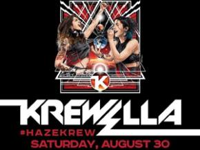 Krewella hits HAZE in Las Vegas Labor Day Weekend (Saturday Aug 30th)