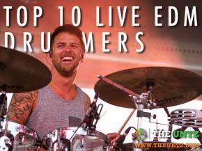 Top 10 EDM - Live Drummers