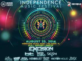 EXCISION, BT, HeRobust headline underwater themed Independence Music Festival (Aug 23 - Orlando, FL) Preview