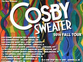 The Untz presents Cosby Sweater 2014 Fall Tour!