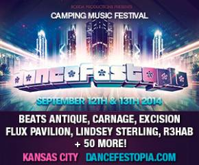 Dancefestopia (Kansas City, MO - September 12-13) ticket prices increase Aug 28!
