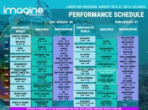 Imagine Music Festival (Aug 30-31 - Atlanta, GA) reveals artist schedule!