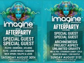 Imagine Music Festival (Aug 30-31 - Atlanta, GA) reveals after party schedule!