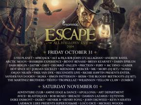 Avicii, Tiesto headline Escape All Hallow's Eve in SoCal Oct 31-Nov 1 Preview