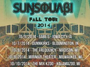 SunSquabi reveals first phase of fall 2014 tour dates!