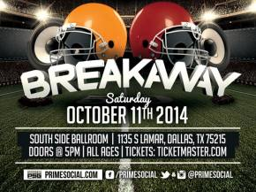 Breakaway Festival brings Adventure Club, DVBBS to Dallas' Southside Ballroom October 11