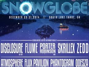 Skrillex, Zedd, Flume, Disclosure to play SnowGlobe Festival Dec 29-31 in South Lake Tahoe Preview