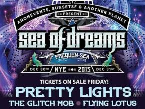 Pretty Lights live band, The Glitch Mob, Flying Lotus headline Sea of Dreams in San Francisco for NYE