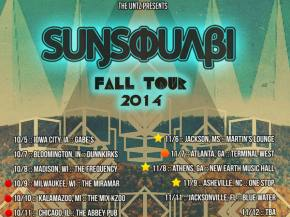 SunSquabi adds more dates to its Fall 2014 tour!