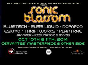 [PREVIEW] Bluetech, Russ Liquid, Dopapod hit SONIC BLOSSOM at Cervantes in Denver Oct 10-11 Preview