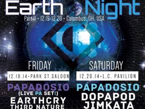 Papadosio announces Earth Night 2K14 Dec 19-20 in Columbus, OH Preview