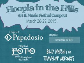 Papadosio, EOTO headline Hoopla in the Hills March 26-29, 2015