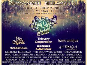 Suwannee Hulaween 2014 reveals its schedule! Preview