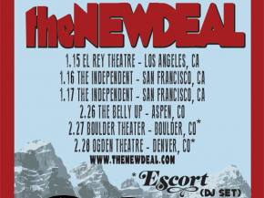 the NEW DEAL reveals new track, winter 2015 tour dates!
