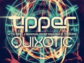 Tipper, Quixotic, Headtron bring Cirque du Freq to LA for Halloween