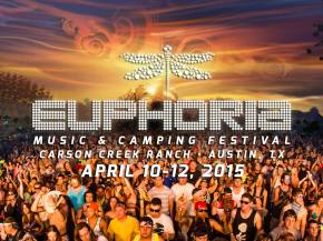 Euphoria Festival now 3 days, returns to Austin April 10-12, 2015 Preview