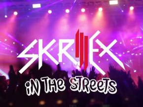 [VIDEO] Skrillex in the Streets of Lincoln, NE October 16, 2014