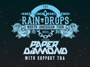 Paper Diamond reveals 2015 Rain Drops Tour