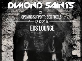 Dimond Saints & Sex Pixels EOS Lounge Santa Barbara, CA Dec 12, 2014