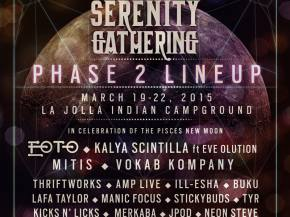 Serenity Gathering reveals March 19-22 La Jolla, CA Rd 2 lineup