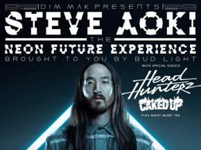 Tickets on sale now for Steve Aoki Neon Future Experience tour