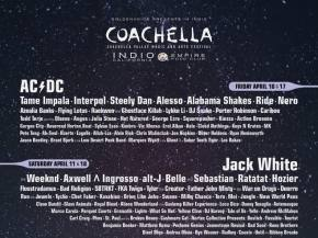 Coachella reveals lineup for April 10-12 & 17-19, 2015 Indio, CA festival Preview