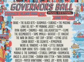 Deadmau5, Flume headline Governors Ball June 5-7, 2015 NYC Preview