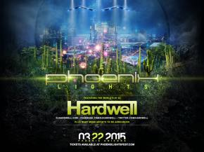 Hardwell to headline inaugural Phoenix Lights Festival March 22, 2015 Preview