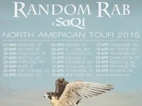 Random Rab releases 2015 spring tour dates with SaQi