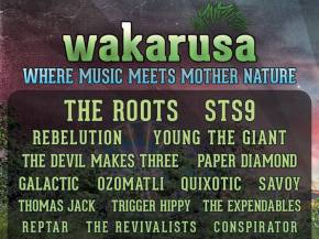 Big Gigantic, The Floozies highlights of Wakarusa 2015 Rd2 lineup