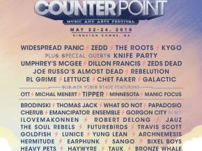 Counterpoint Festival reveals Memorial Day Weekend 2015 lineup Preview
