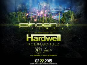 Robin Schulz, Route 94 added to Phoenix Lights Festival 3-22 Preview