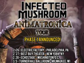 Infected Mushroom reveals Animatronica live band tour dates