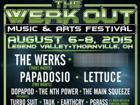 The Werk Out 2015 reveals phase one lineup with Papadosio, Dopapod