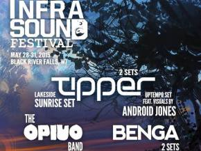 Tipper, The Opiuo Band to headline Infrasound May 28-31, 2015