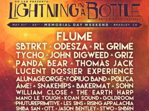 Flume, SBTRKT, Odesza headline Lightning in a Bottle 2015