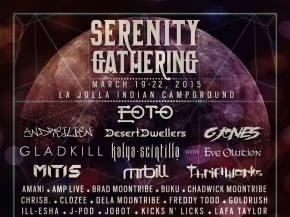 Top 10 Serenity Gathering 2015 Artists Preview