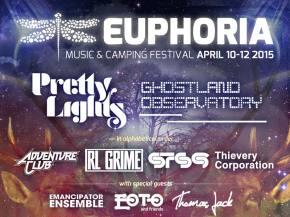 Big Gigantic, Tritonal join Euphoria Fest bill April 10-12 Austin, TX