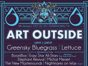 Michal Menert, BoomBox headline Art Outside Downtown, TX October 22-25 Preview