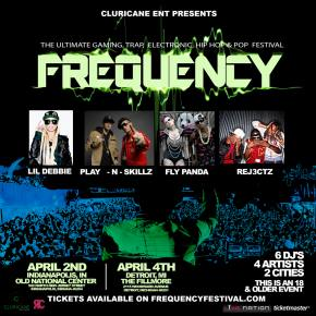 Frequency brings Lil Debbie, Play-N-Skillz to Indy, Detroit in April