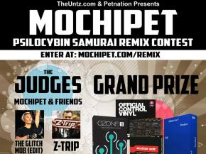 Win HUGE prizes in the Mochipet 'Psilocybin Samurai' Remix Contest!