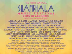 Pretty Lights, Skrillex, Tipper, GRiZ headline Shambhala 2015
