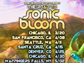 The Untz presents the Road to SONIC BLOOM 2015 nationwide tour