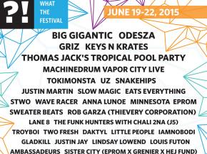 Minnesota, Great Dane hit What The Festival 2015 Dufur, OR June 19-22 Preview