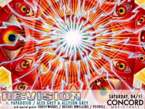 Psydell crafts mix for Re:Vision Chicago April 11 Concord Music Hall