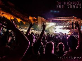 Top 10 EDM Red Rocks - 2015