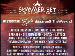 Deadmau5, Bassnectar headline Summer Set August 14-16 Somerset, WI Preview