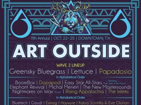 Papadosio, Dopapod, The Werks join Art Outside lineup October 22-25 Preview
